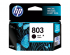 HP 803 INK CARTRIDGE BLACK (F6V21AA)