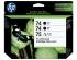 HP 74 75 BLACK / TRICOLOR INK CARTRIDGES 3PK (SD422AN#140)