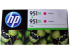 HP OFFICEJET NO 951XL INK CARTRIDGE MAGENTA TWIN PACK (D8J20AE)