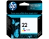HP NO 22 INK CARTRIDGE TRI-COLOR (C9352AE#ABE)