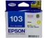 EPSON 103 INK CARTRIDGE YELLOW XHY (C13T103492)