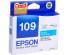 EPSON 109 INK CARTRIDGE CYAN (C13T109283)