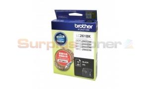 BROTHER DCP-J562DW INK CARTRIDGE BLACK (LC-261BK)