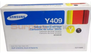 SAMSUNG CLP-315 TONER CARTRIDGE YELLOW (CLT-Y409S/XAX)