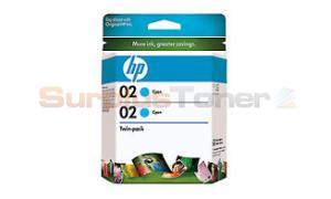 HP NO 02 INK CYAN 800 PAGES (CD996FN)