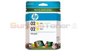 HP NO 02 INK YELLOW (CD998FN)