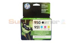 HP 950/951 INK CTG BLACK/COLOR 4PK (X4E06AN)