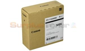 CANON PFI-1100MBK INK TANK MATTE BLACK 160ML (0849C001[AA])