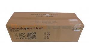 KYOCERA MITA TASKALFA 6550CI DEVELOPER UNIT YELLOW (DV-8705Y)