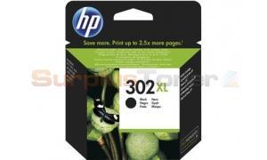 HP 302XL INK CARTRIDGE BLACK (F6U68AE#301)