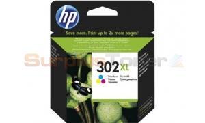HP 302XL INK CARTRIDGE TRI-COLOR (F6U67AE#301)