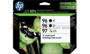 HP NO 96 97 INK CARTRIDGES 2-B/1-C 3PK (CC633FN)