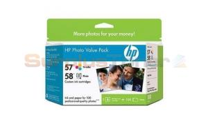 HP NO 57 58 INKS/PAPER VALUE PACK 100SH (Q7952AC)