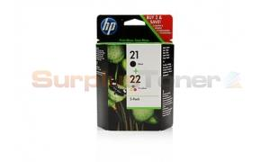 HP 21/22 INK CARTRIDGE CMYK COMBO-PACK (SD418AN)