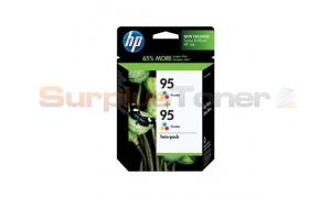 HP NO 95 INK TRI-COLOR TWINPACK (SD433AN)