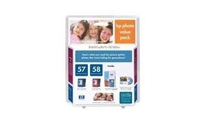 HP NO 57 58 INK/PAPER PHOTO VALUE PACK (C9327AN)