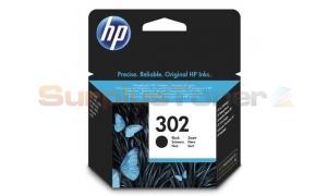 HP 302 INK CARTRIDGE BLACK (F6U66AE#ABE)
