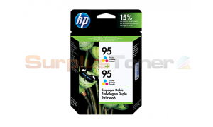HP 95 INK CARTRIDGE TWIN PACK TRI-COLOR (CD886FL)