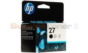 HP NO 27 INK CARTRIDGE BLACK (C8727AE#BA6)