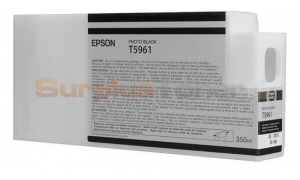 EPSON STYLUS PRO 7900 INK CTG PHOTO BLACK 350ML (NO BOX) (T5961)