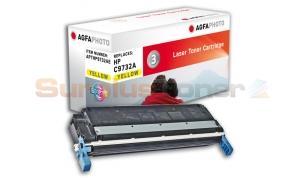 HP NO 645A CLJ-5500 TONER CART YELLOW AGFAPHOTO (APTHP9732AE)