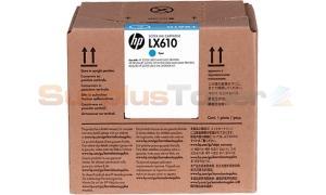 HP LX610 INK CARTRIDGE CYAN (CN670A)