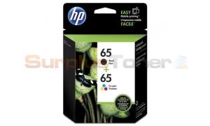 HP 65 INK CTG BLACK/TRI-COLOR 2PK (1W68AN)