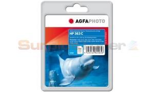 HP NO 363 XL INK CART CYAN HY AGFAPHOTO (APHP363CD)