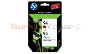 HP NO 94 95 INK BLACK/COLOR COMBOPACK (C9354FN)