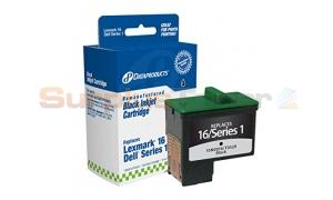 LEXMARK 16/17 INK CARTRIDGE BLACK DATAPRODUCTS (DPCD5878B)