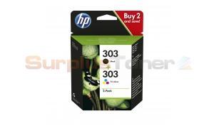 HP ENVY PHOTO 6220 INK CARTRIDGE BLACK/COLOR 2PK (3YM92AE#UUS)