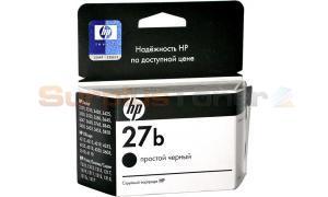 HP NO 27B INK CARTRIDGE SIMPLE BLACK (C8727BE)