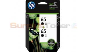 HP 65 INK CARTRIDGES BLACK 2-PACK (1VU22AN)