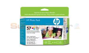 HP NO 57 INK CARTRIDGE AND PHOTO PAPER (Q7898AN)