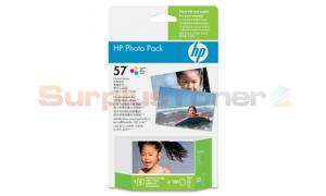 HP NO 57 PHOTO PACK TRI-COLOR 400 PAGES (Q7931AA)
