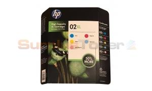 HP NO 02 XL INK FIVE COLOR PACK (CD978BN)