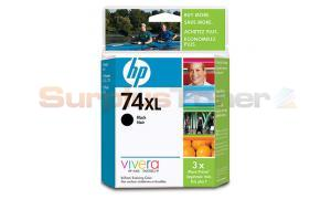 HP PHOTOSMART D5360 NO 74 XL INK CTG BLACK HY (CB336WC)