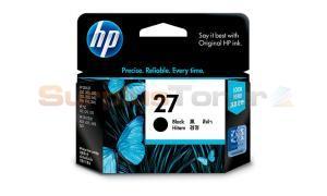 HP NO 27 INKJET INK CARTRIDGE BLACK (C8727AA)