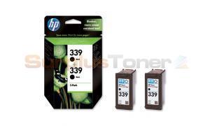 HP NR 339 DUAL PRINT CARTRIDGES BLACK (C9504EE)