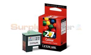 LEXMARK Z645 NO. 27 PRINT CART COLOR (10N0227)