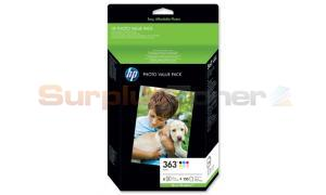 HP 363 SERIES PHOTO VALUE PACK-150 SHT/10 X 15 CM (Q7966EE)