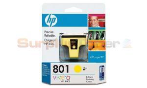 HP 801 YELLOW INK CARTRIDGE (C8773ZZ)