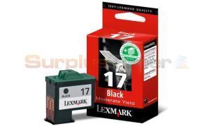 LEXMARK COLORJET Z13 INK CART BLACK (10N0017)