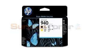 HP 940 OFFICEJET PRINTHEAD BLACK AND YELLOW (C4900AE)