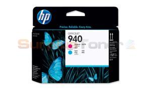 HP 940 OFFICEJET PRINTHEAD MAGENTA AND CYAN (C4901AE)
