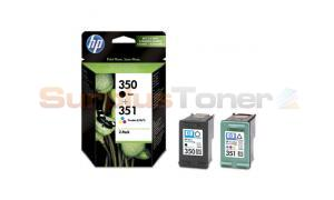 HP 350 351 INK CARTRIDGE COMBO-PACK (SD412EE)