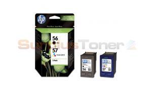 HP 56 57 INK CARTRIDGE CMYK COMBO-PACK (SA342AE)