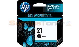 HP NO 21 INKJET PRINT CARTRIDGE BLACK (C9351AC)