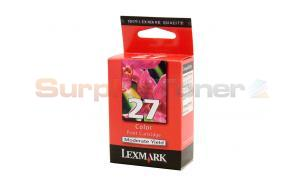 LEXMARK X2250 NO 27 PRINT CARTRIDGE COLOR (10N0227A)