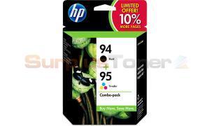 HP NO 94 95 INK CARTRIDGE CMYK COMBO-PK (SD421AN)